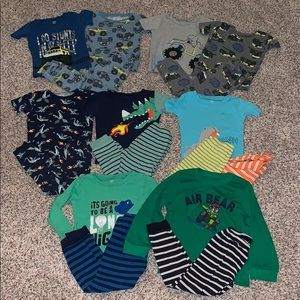 Just one you by Carters large pajama lot! Size 5T